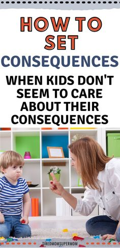 Kids Who Don't Care About Consequences