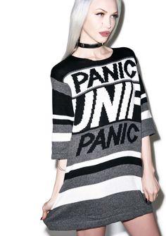 UNIF Panic Game Sweater | Dolls Kill