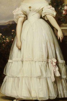 warpaintpeggy: INCREDIBLE DRESSES IN ART (40/)Portrait of...