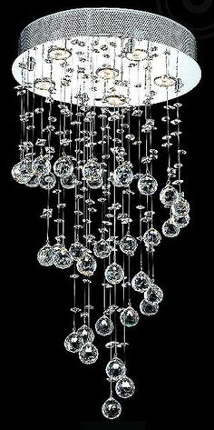 Love this Contemporary Crystal Chandelier Chandler !