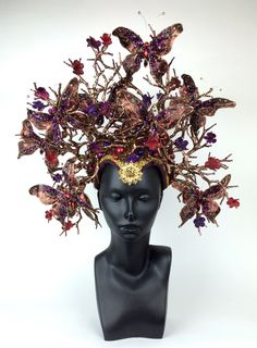 Awaken your inner Goddess with Miss G Design's handmade headdress collection.