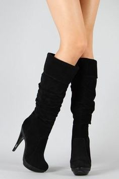Promise Lena Cuff Slouchy Knee High Boot
