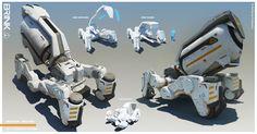 ArtStation - BRINK - Reactor - Keg Bot, Georgi Simeonov