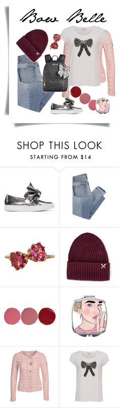 """Bow Belle"" by gulli-jules ❤ liked on Polyvore featuring Cédric Charlier, Mix Nouveau, Patile Kalandjian, Silver Spoon Attire, Charlotte Tilbury, Odd Molly, French Connection and Betsey Johnson"