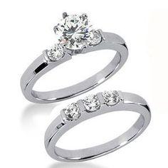 1.50 Karat Diamantringe *Exclusivset No.34*