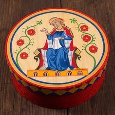 Box - inspired by the Codex Manesse