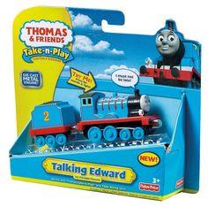 Amazon.com: Thomas the Train: Take-n-Play Talking Edward: Toys & Games