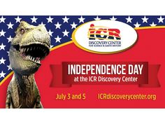 THIS WEEKEND: Celebrate Independence Day at the ICR Discovery Center! Institute For Creation Research, Science News, Independence Day, Discovery, Geology, Celebrities, Diwali, Celebs, 4th Of July Nails