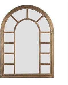 Spice up that boring wall with this arched mirror! Get it here: http://www.bhg.com/shop/kenroy-home-cathedral-wall-mirror-24w-x-34-25h-in-p5069a0de82a71c80fe43b4c6.html?mz=a