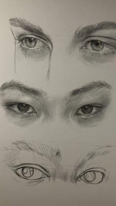 Art Drawings Sketches Simple, Pencil Art Drawings, Realistic Drawings, Drawing Faces, Manga Drawing, Eye Drawing Tutorials, Drawing Techniques, Painting Tutorials, Drawing Tips