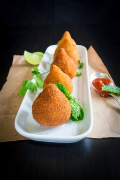 Coxinhas- Yummy Brazilian Chicken Croquettes | The Gastronomic BONG