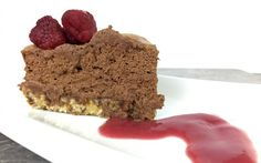<p>The crust for this decadent pie is simply made of dates, cashews, and coconut, and then topped with a whipped chocolate aquafaba mousse. Top it with raspberries and dig in! </p>
