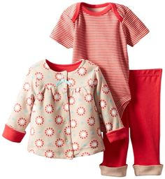 Offsprin Set de jacket, pantalón y enterizo para niñas  https://www.minime.do
