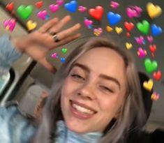 New memes heart billie eilish ideas Billie Eilish, Picsart, Heart Meme, Album Cover, Heart Emoji, Cute Love Memes, A Silent Voice, Wholesome Memes, Favorite Person