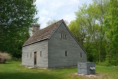 Saltbox. Clemence-Irons House, built in 1691 by Richard Clemence