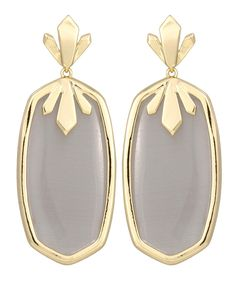 Dillon Earrings in Slate - Kendra Scott Jewelry