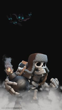 Father of skeletons, he like hug n come to him n boom Clash Of Clans Troops, Coc Clash Of Clans, Clash Of Clans Cheat, Clash Of Clans Game, Game Character, Character Design, Character Reference, Giant Skeleton, Casual Art