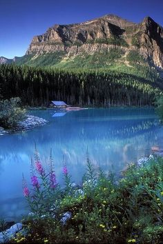 """Fascinating Pictures: Lake Louise - Banff, Canada. "" I need to go to Canada in the summer!"