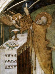Messe Miraculeuse, Simone Martini 1312