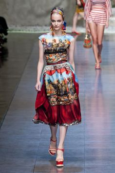 Dolce #MFW #SS13