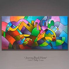 Große abstrakte Malerei original abstrakte Malerei