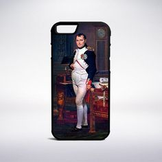 Jacques-Louis David - Napoleon Bonaparte In His Study At The Tuileries Phone Case
