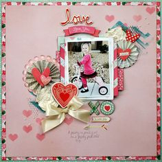 A Stash of Pretty Paper: More My Creative Scrapbook February 2014 Main Kit: Crate Paper