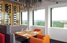 Floor 17, a sky bar and restaurant in Amsterdam (staalmeesterslaan 410) http://www.floor17.nl/