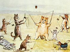 louis wain - Google Search