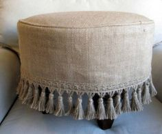 Burlap fabric can be a tight budget interior decorating idea and can add rustic chic accents to modern interiors also