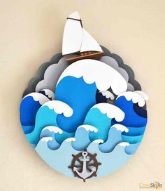 40 Extremely Creative Examples Of Kirigami Art: A Hobby To Adopt - Page 3 of 3 - Bored Art 3d Paper Art, Paper Artwork, Diy Paper, Paper Crafts, Foam Crafts, Paper Drawing, 3d Artwork, Artwork Design, Paper Toys