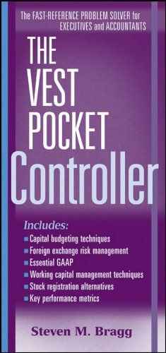 The Vest Pocket Controller by Steven M. Bragg. $21.04