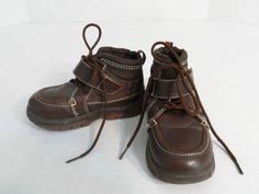 d681a7d94c63 Boys Shoes Hiking Trail Boots Brown Hi-