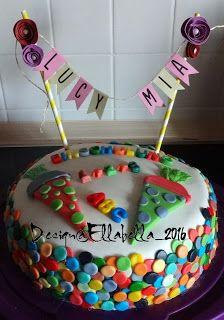 Rainbow cake, Regenbogentorte, Fondant, Einschulung, First Schoolday