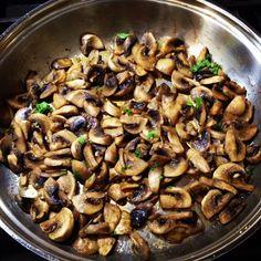 My favourite Italian mushrooms #healthy #side #dinner
