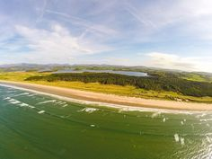 This beautiful Blue Flag beach of Murvagh on the south western coast of Donegal, Ireland.