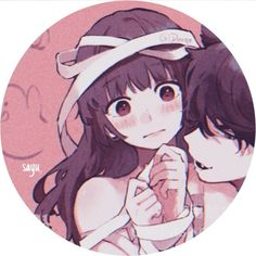 Twitter Cute Anime Profile Pictures, Matching Profile Pictures, Cute Anime Pics, Anime Couples Drawings, Anime Couples Manga, Anime Chibi, Kawaii Anime, Digital Art Anime, Cute Anime Coupes