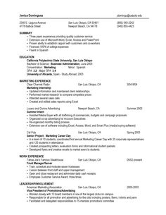 Summary Sample For Resume Alluring Resume Samples For Sales Manager Sample Resumes Free Senior Project .