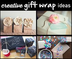 11 Creative Gift Wrap Ideas…so cute! Creative Gift Wrapping, Wrapping Ideas, Creative Gifts, Wrapping Gifts, Creative Ideas, Craft Gifts, Diy Gifts, Cute Crafts, Little Gifts