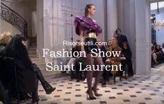 Fashion show Saint Laurent fall winter 2016 2017 womenswear
