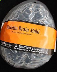 Jello Gelatin Brain Mold Halloween