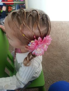 43 best Toddler hairstyles for thin short hair images on Pinterest ...