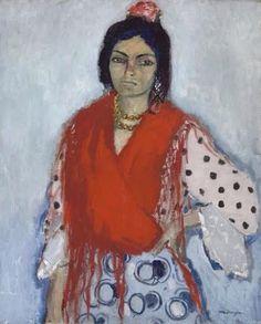 Kees van Dongen「La gitane」(1910-11)
