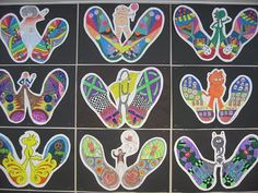 Image result for symmetry for elementary art students