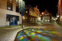 Trajectum Lumen (Buurkerkhof Utrecht, The Netherlands) Utrecht, Metal Workshop, Urban Art, Amsterdam, Dutch, Glass Art, Street Art, Van, Mansions