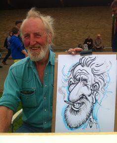 Caricature from the classics in Corbridge