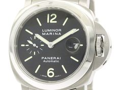 Polished #PANERAI Luminor Marina Steel Automatic Mens Watch PAM00299 299 BF103331: Authenticity guaranteed, free shipping worldwide & 14 days return policy. Shop more #preloved brand items at #eLADY: http://global.elady.com