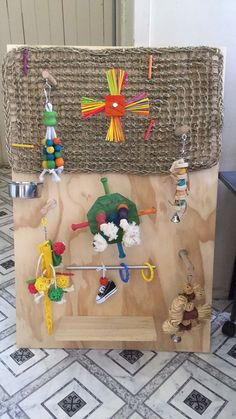 PARROT / BIRD TOY / PLAY GYM | eBay