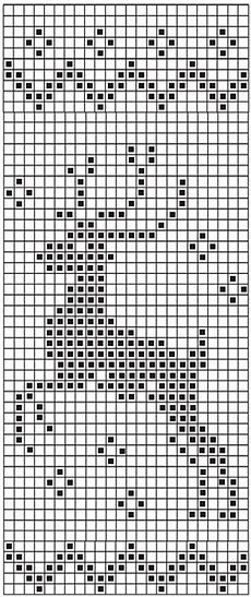 Ideas for sewing clothes patterns thoughts - Image 8 of 23 Xmas Cross Stitch, Cross Stitch Charts, Cross Stitching, Cross Stitch Embroidery, Cross Stitch Patterns, Filet Crochet Charts, Knitting Charts, Knitting Stitches, Drops Design