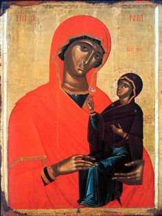 """Saint Anne (also known as Ann or Anna, from Hebrew Hannah חַנָּה, meaning """"favor"""" or """"grace"""") of David's house and line, was the mother of the Virgin Mary and grandmother of Jesus Christ, St Anne, Miguel Angel, Gospel Of James, Santa Anna, Sainte Cecile, Greek Icons, Madonna And Child, Blessed Virgin Mary, Saints"""